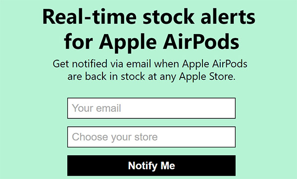 airpods-stock