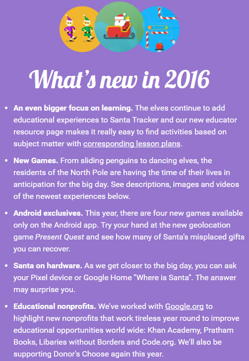 google-santa-tracker-what's-new