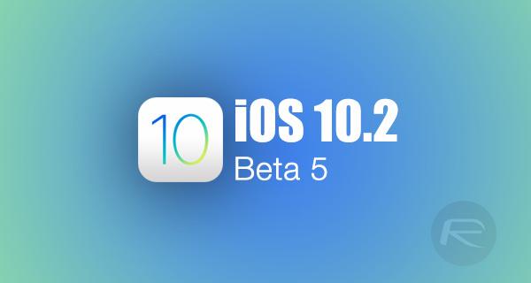 Download: Apple Releases iOS 10 2 Beta 5 | Redmond Pie