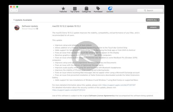 macOS 10.12.2 final