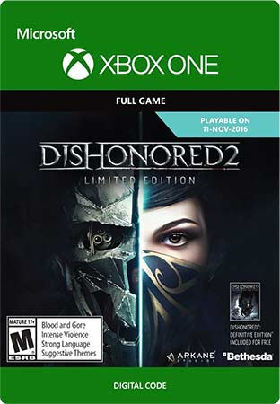 xbox-one-dishonored-2-code