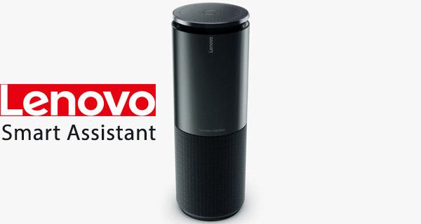 lenovo smart assistant is amazon echo lookalike alexa powered speaker that costs 130 redmond pie. Black Bedroom Furniture Sets. Home Design Ideas