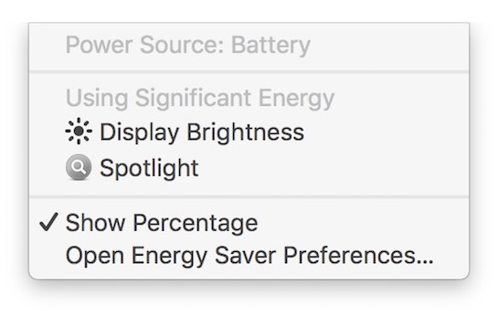macos 10.12.3 beta 4 battery
