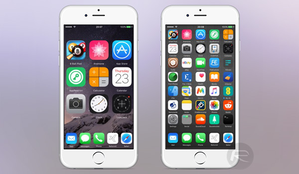 reformx for ios 10 lets you customize home screen app icons create