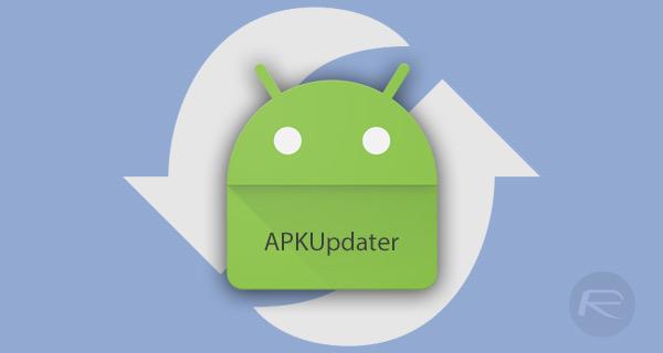 """Résultat de recherche d'images pour """"apk updater"""""""