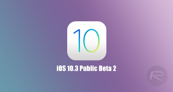 iOS 10 3 Public Beta 2 Released For iPhone And iPad