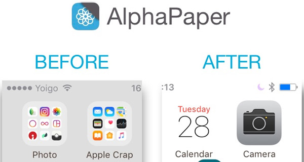 How To Remove iPhone Wallpaper Overlay From iOS 10 Home And