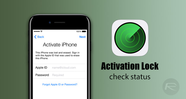 activation lock iphone how to check activation lock status of iphone workaround 4432
