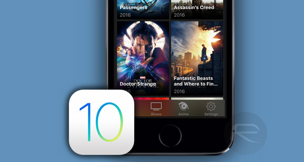 Download Popcorn Time IPA On iOS 10 [No Jailbreak Required