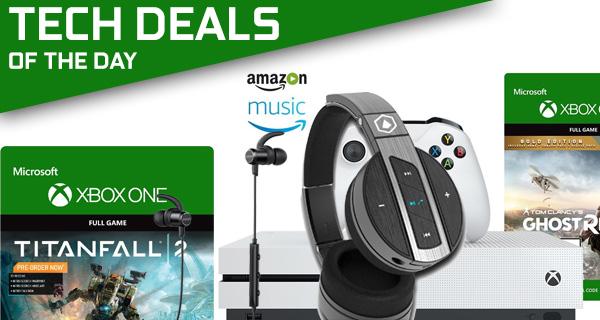 Tech Deals: $299 Xbox One S Bundle, $270 Off Bluetooth Headphones