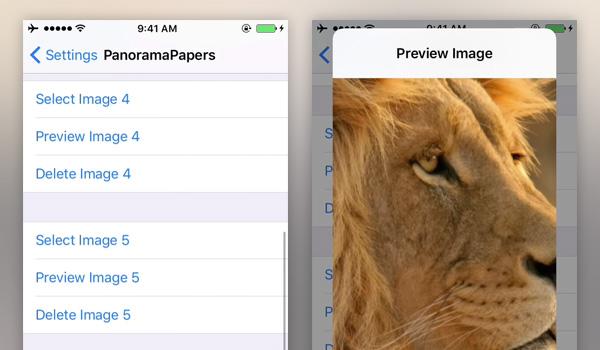 Wallpaper For Each iOS 10 Home Screen