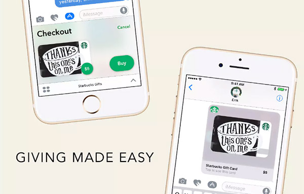 How To Get Free 5 Starbucks Gift Card Using Imessage On Iphone