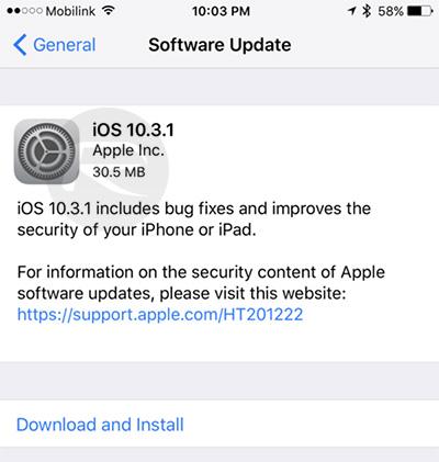 ios 10.3.1 ipsw