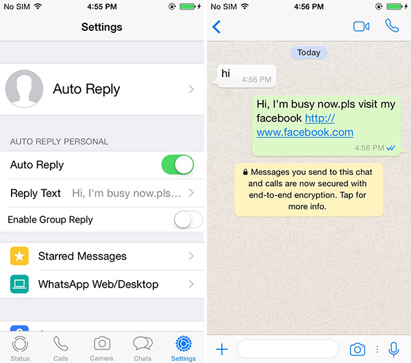 Schedule WhatsApp Messages With Auto Reply On iPhone, Here's