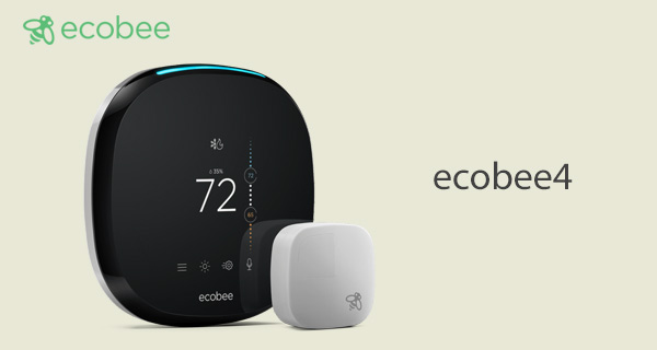 Ecobee4 Thermostat And Smart Light Switch Announced