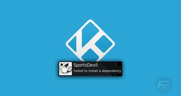 exodus error failed to install a dependency