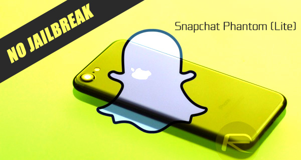 Download Snapchat++ Phantom Lite 10 9 2 0 IPA On iOS 10 [No