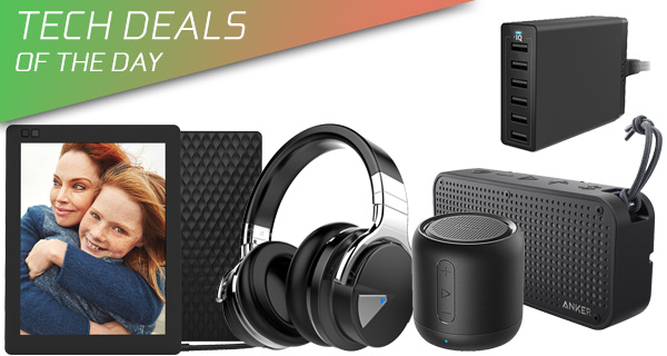 c22a9b64ccc There are a host of Anker audio products up for sale as well with discounts  running up to 50%. There's also a $100 wireless and noise-canceling  headphone ...