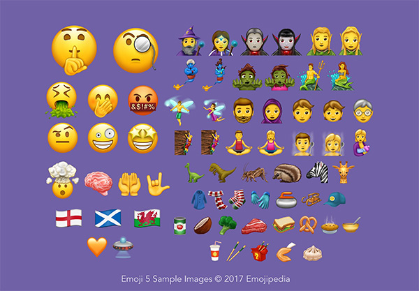 Unicode 10 With 56 New Emoji Officially Released, Coming To