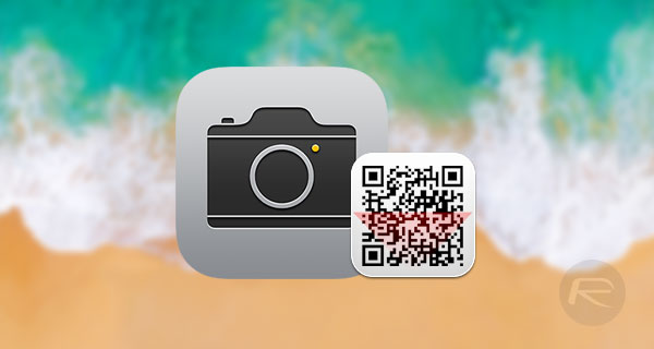 how to scan qr codes in ios 11 camera app redmond pie. Black Bedroom Furniture Sets. Home Design Ideas