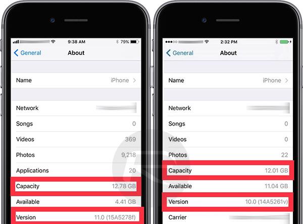 iOS 11 Vs iOS 10: Apple's New Mobile OS Takes Less Storage