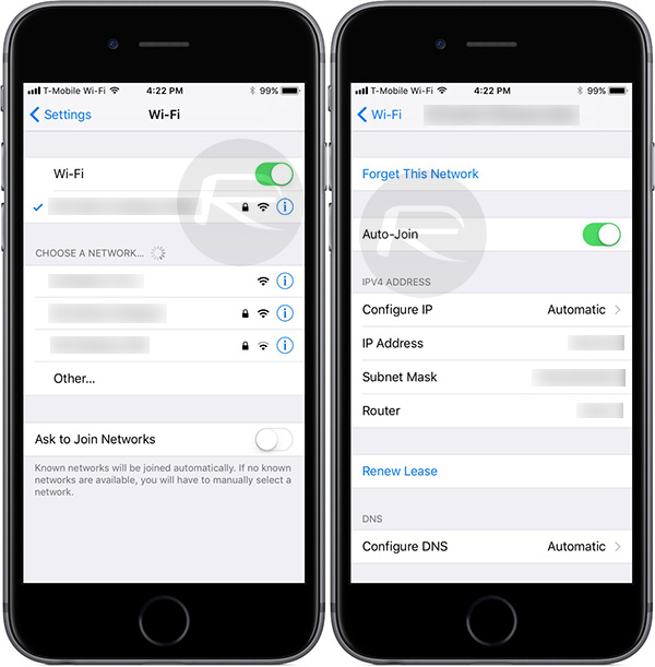 New In iOS 11: Auto-Join WiFi On A Per Network Basis ...