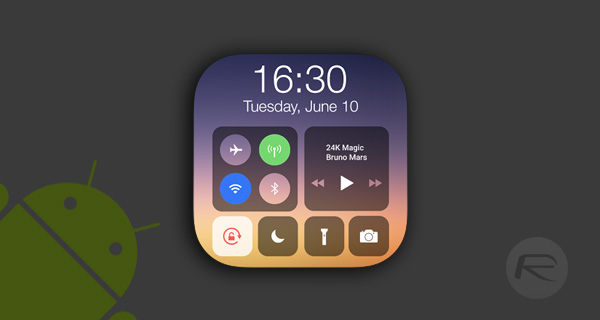 Download iOS 11 Control Center On Android Device [No Root Required