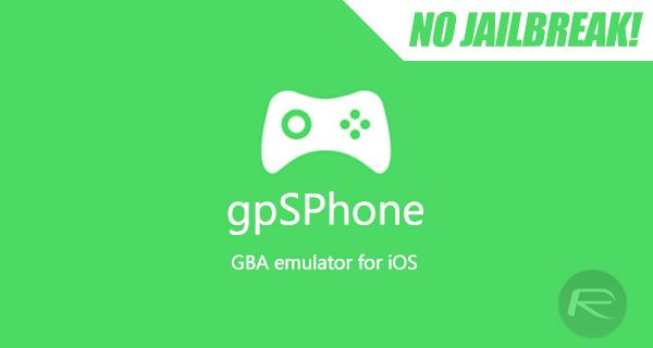 Download gpSPhone IPA GBA Emulator On iOS 10 / 11 [No