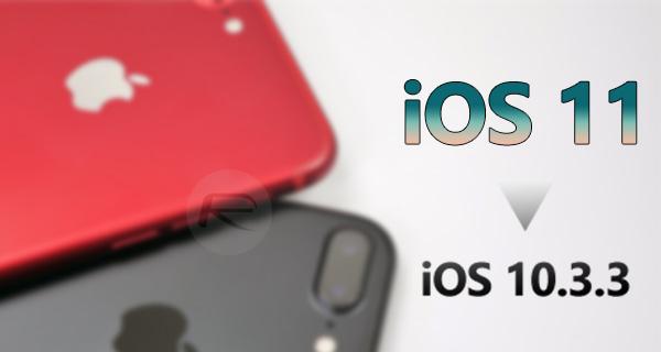 How To Downgrade iOS 11 0 3 / 11 To iOS 10 3 3 / iOS 10 [Tutorial
