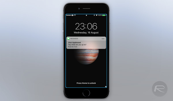 Edgify For Ios 10 Brings Customizable Notification Edge Lighting To Iphone Redmond Pie