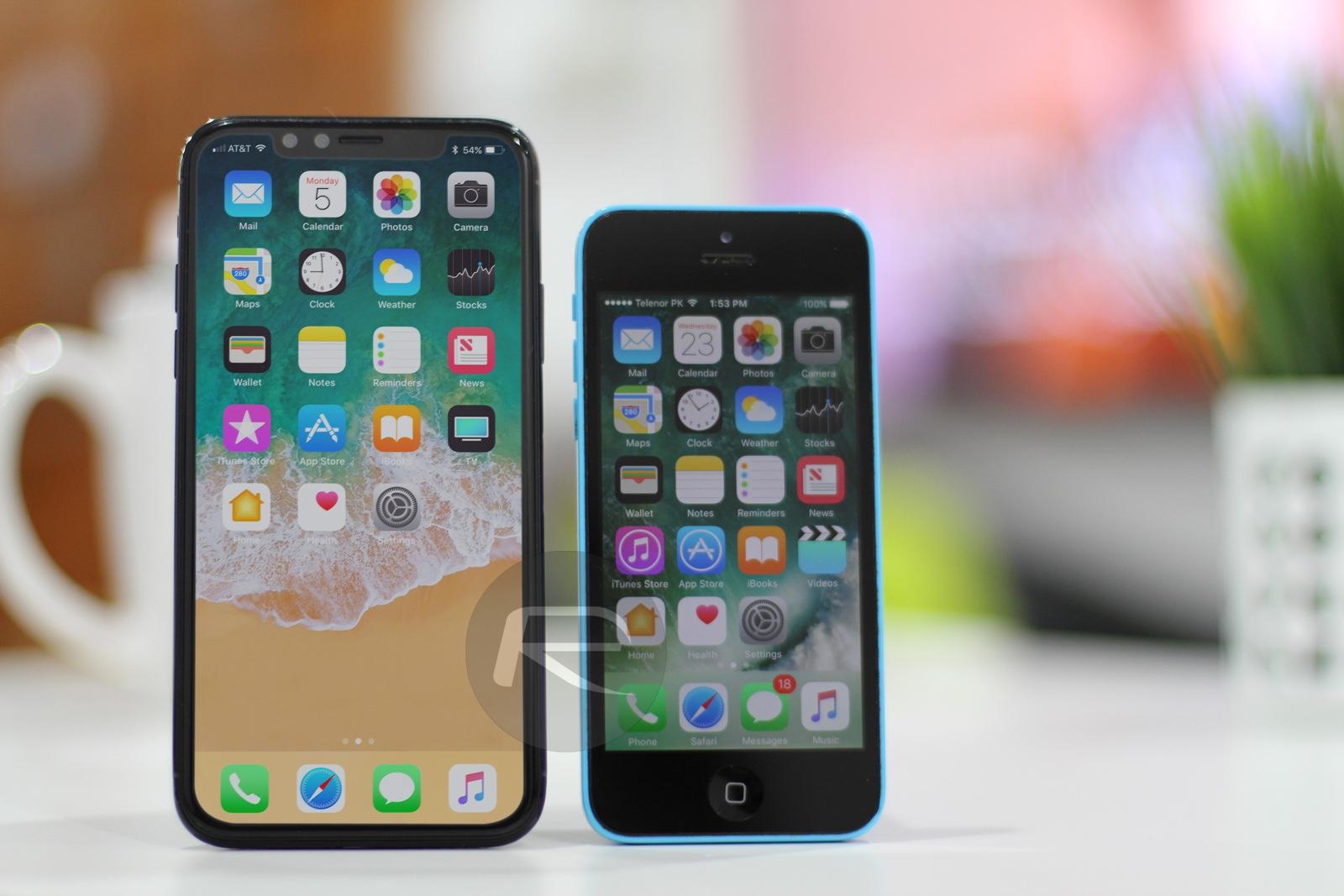iPhone X / Edition Vs iPhone 7 Vs 7 Plus Vs 6s Vs 2G, More