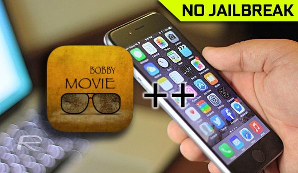 Download Bobby Movie++ IPA App On iOS 10 [No Jailbreak