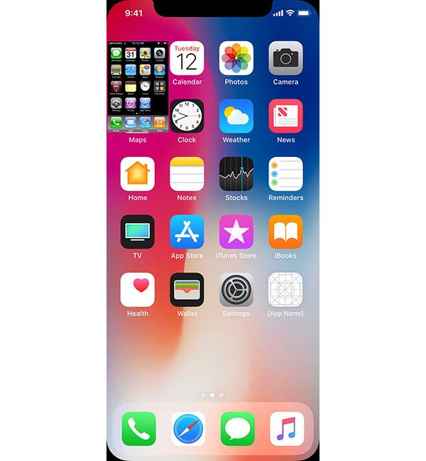 Original Iphone Home Screen