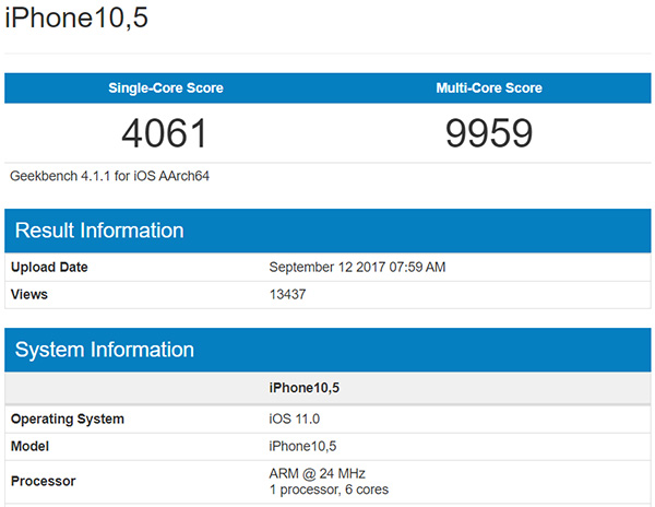 iphone x vs samsung s8 benchmark