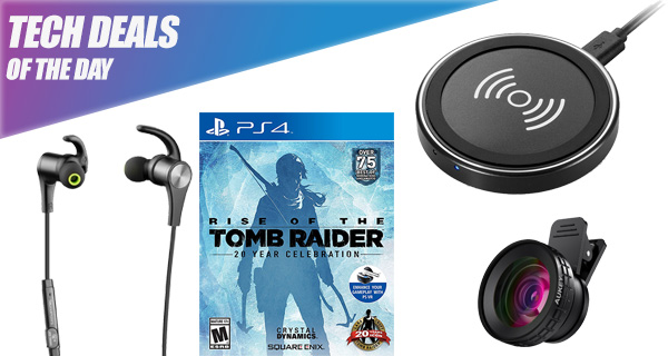 Tech Deals: $13 iPhone X / iPhone 8 Wireless Charger, Phone