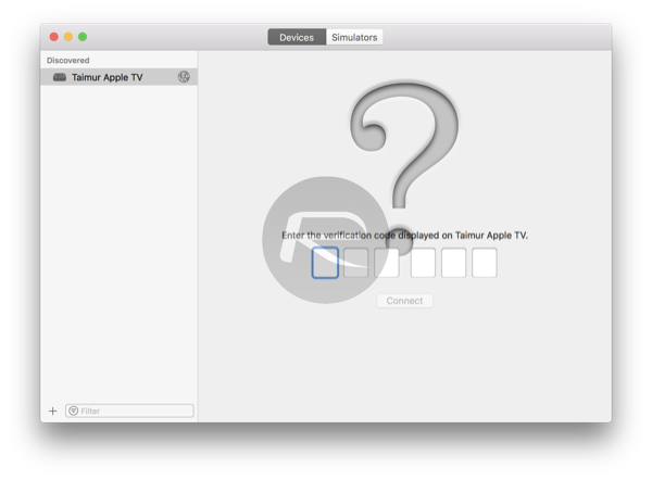 How To Wirelessly Connect Apple TV 4K To Xcode On Mac