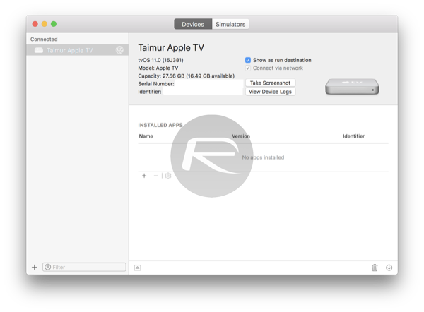 How To Wirelessly Connect Apple TV 4K To Xcode On Mac | Redmond Pie