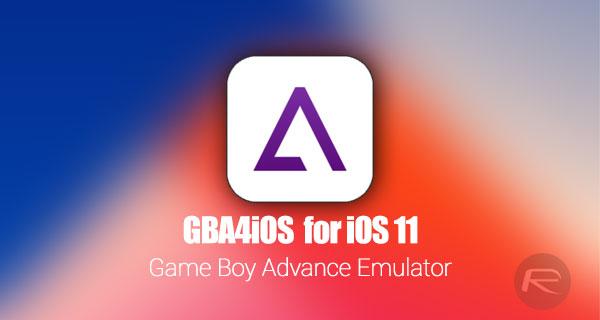 Download GBA4iOS 2 1 iOS 11 IPA On iPhone Or iPad [No
