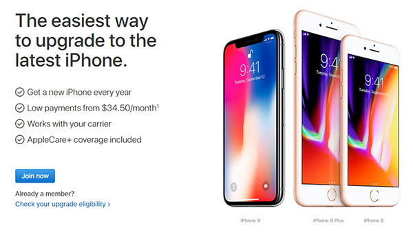 iPhone Upgrade Program Members Offered Head Start For iPhone