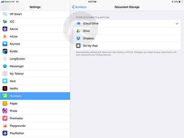 Change Default Save Location In iOS 11 Files App, Here's How