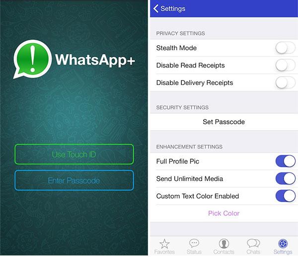 Download WhatsApp++ IPA On iOS 11 iPhone [No Jailbreak