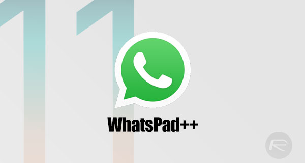 WhatsApp iPad / WhatsPad++ iOS 11 IPA Download Without Jailbreak