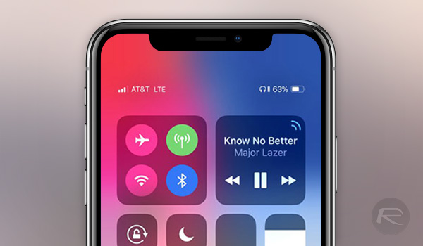 Check Iphone X Battery Percentage In Status Bar Here S How