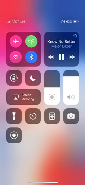 Check iPhone X Battery Percentage In Status Bar, Here's How
