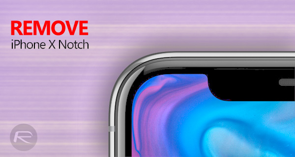 How To Remove Iphone X Notch From Home And Lock Screen