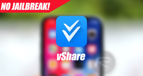 vShare iOS 11 Download For IPA Files [No Jailbreak Required