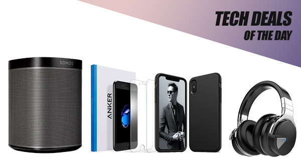Tech Deals: $60 Off SONOS Speaker, $10 iPhone X Case, 2-Pack iPhone