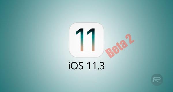 download ios 11.3 public beta 2