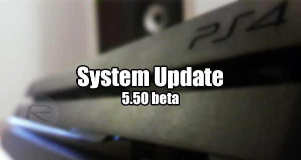 PS4 5 50 Beta Download Announced, Sign Up Now | Redmond Pie