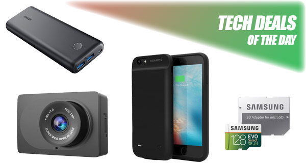 promo code 22c48 e7af9 Tech Deals: $22 iPhone 6s Plus Battery Case, $30 1080p Dash Cam For ...
